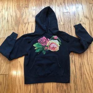 Obey Floral Pullover Hoodie